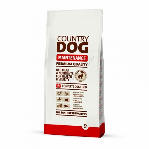 "Суха храна ""Country Dog Maintenance"" - 15 kg"