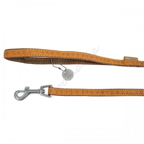 Кожен повод Mac Leather – 1.2 м / 25 мм