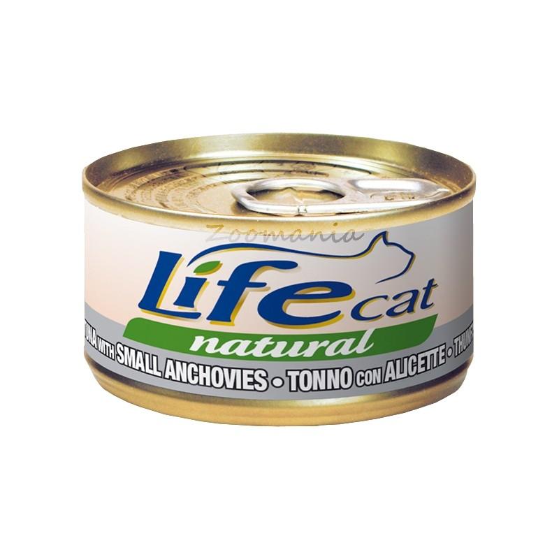 "Консерва за котки ""Риба тон с аншоа"" – 70 гр"