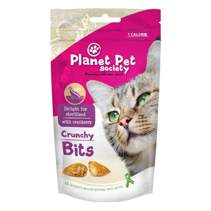 """Деликатес за кастрирани котки """"Crunchy Bits for Sterilized"""" - 40 гр"""