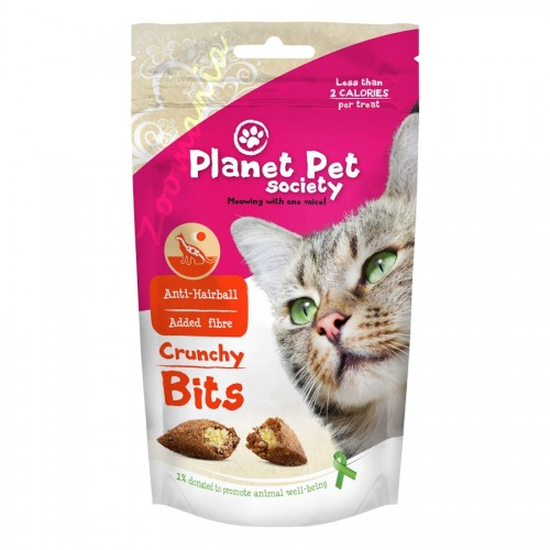 "Лакомство ""Crunchy Bits for Hairball Prevention"" - 40 гр"