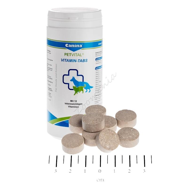 Витамини за котки и кучета - Petvital® Vitamin-Tabs – 100 гр