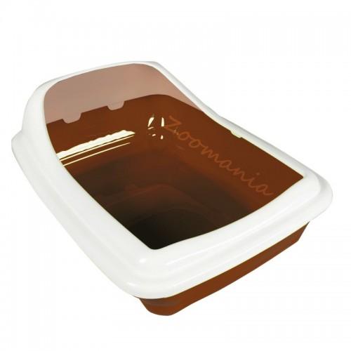 Котешка тоалетна с повдигнат борд - Birba Medium