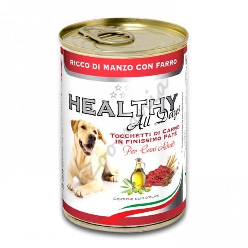 """Кучешка консерва - Healthy All days """"Говеждо със спелта"""""""