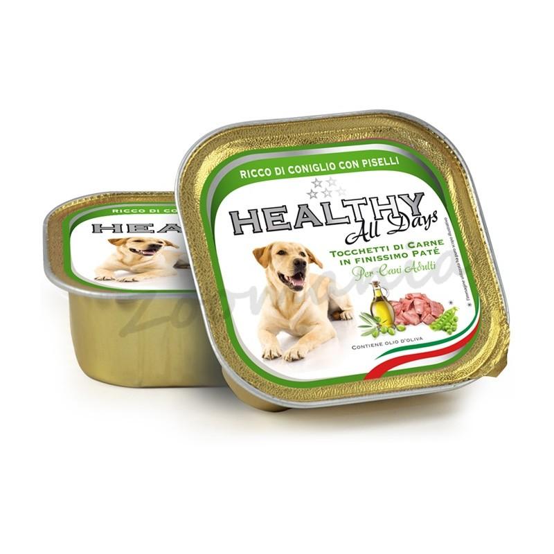 "Пауч за кучета - Healthy All days Dog ""Заек с грах"""