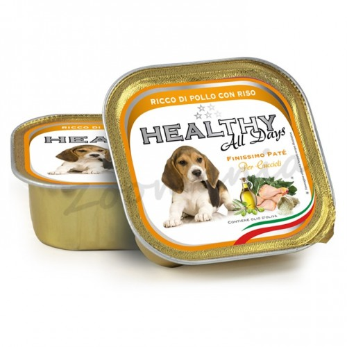 "Пауч за кученца - Healthy All days Puppy ""Пиле с ориз"""