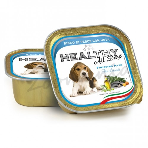 "Пауч за кученца - Healthy All days Puppy ""Риба с яйца"""