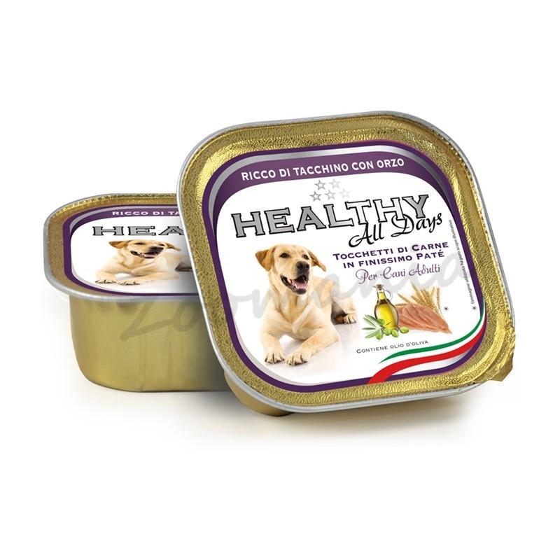 """Пауч за кучета - Healthy All days """"Пуйка с ечемик"""""""