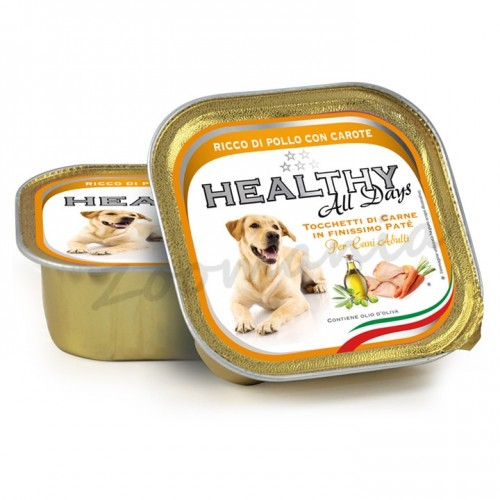 "Healthy All Days Dog ""Пиле с моркови"""