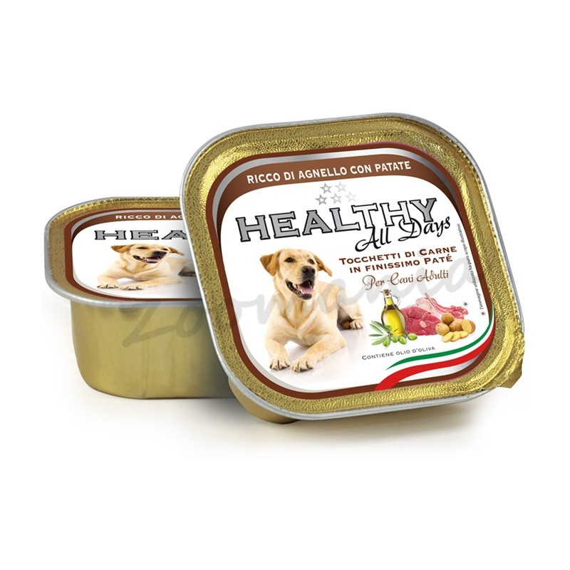 """Пауч за кучета - Healthy All days """"Агне с картофи"""""""
