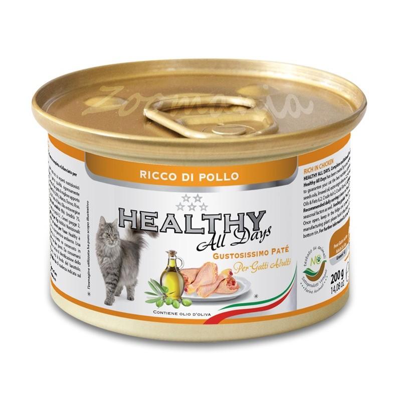 """Консерва за котки - Healthy All days Cat """"Пилешко"""""""