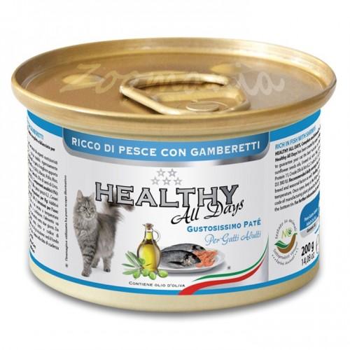 "Healthy All days Cat ""Риба със скариди"""