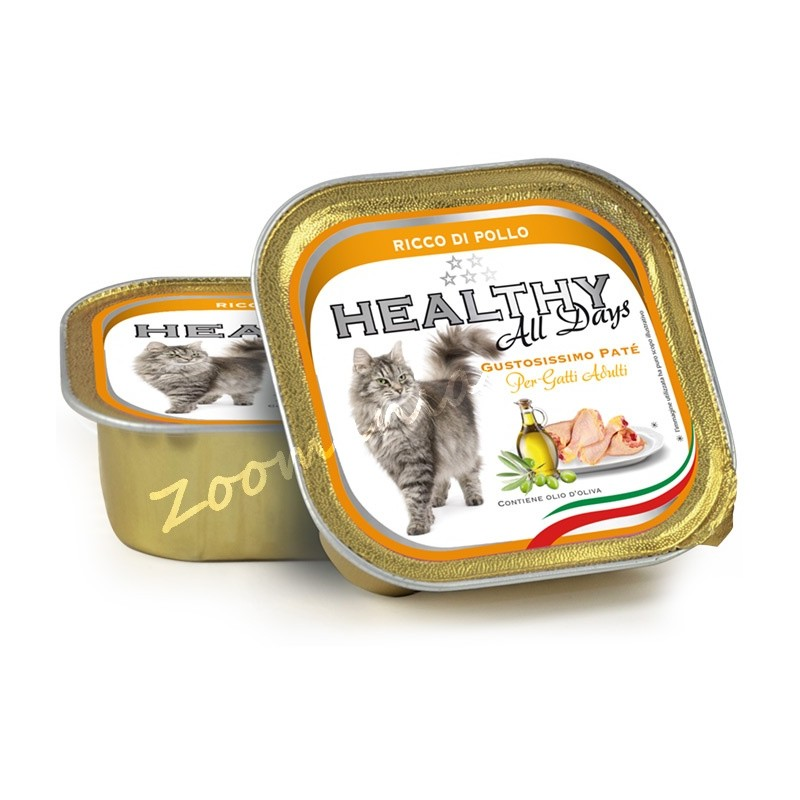 "Пауч за котки - Healthy All days Cat ""Пилешко"""