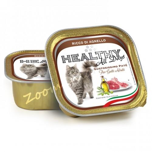 "Пауч за котки - Healthy All days Cat ""Агнешко"""