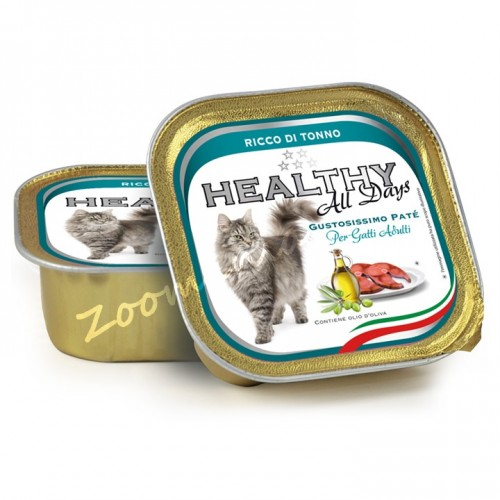 "Пауч за котки - Healthy All days Cat ""Риба тон"""