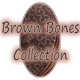 Колекция Rogz Trendy Brown Bones