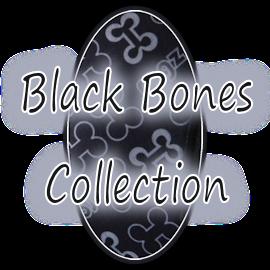 Rogz Trendy Black Bones