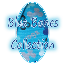 Rogz Trendy Blue Bones