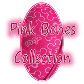 Rogz Trendy Pink Bones